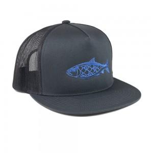 Salmon_Trucker_BlueonGrey_Side